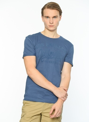 Blend Tişört Mavi
